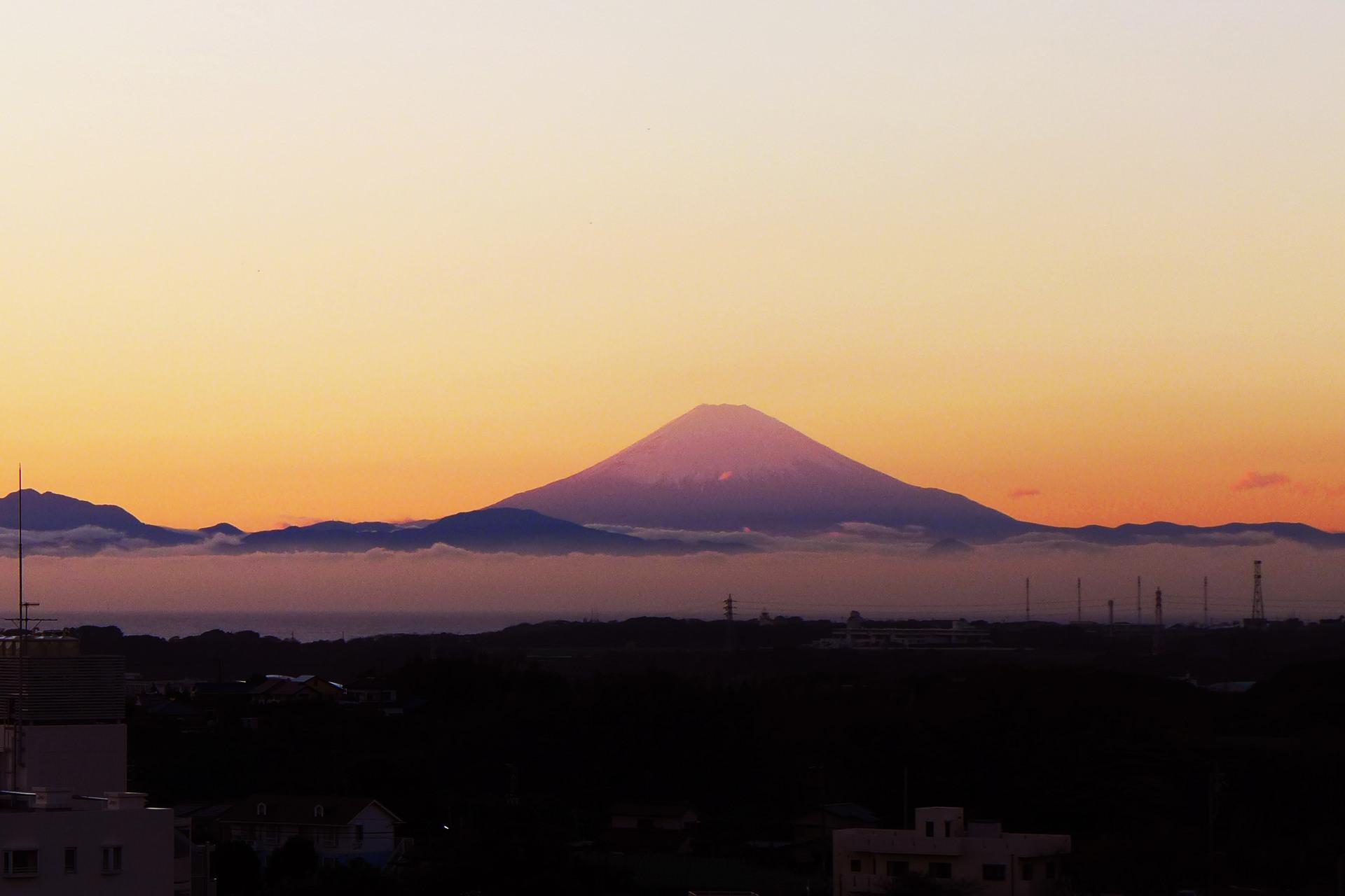 マホロバからの風景~富士山~