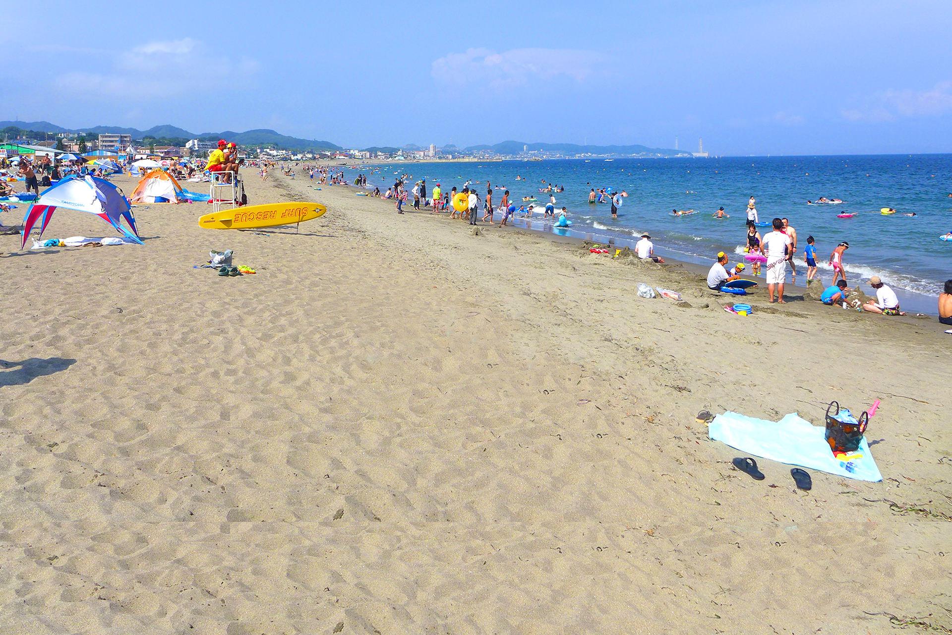 夏の三浦海岸