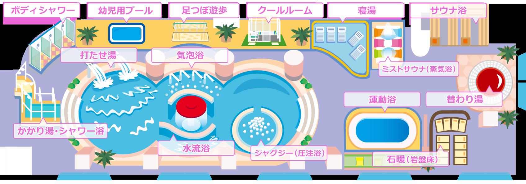 三浦海岸にあるホテル『マホロバ・マインズ三浦』(日帰り温泉&スパ&室内プール)