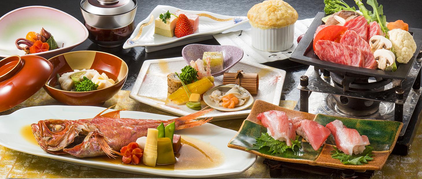 美食和食会席例
