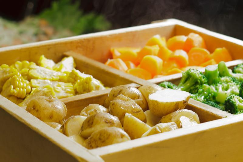 鮮やかな野菜