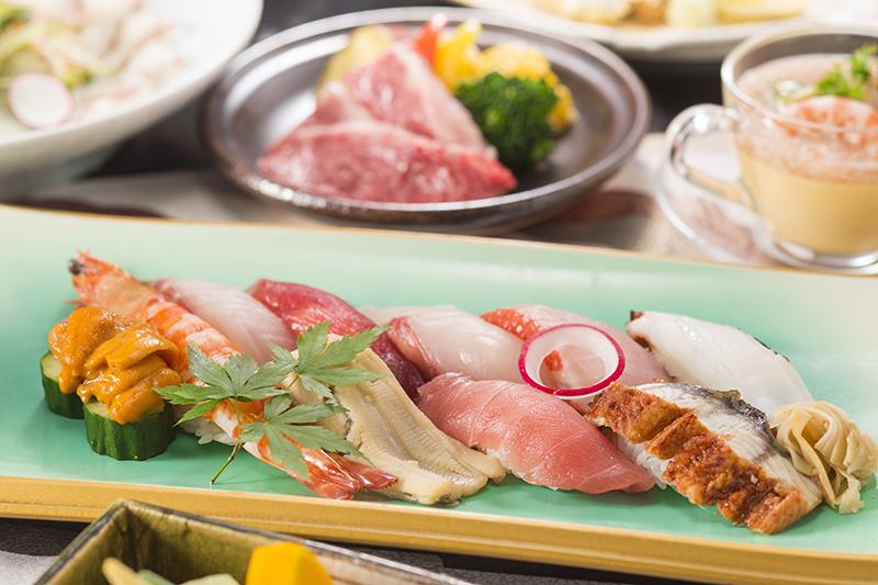 寿司コーナー 海石榴01